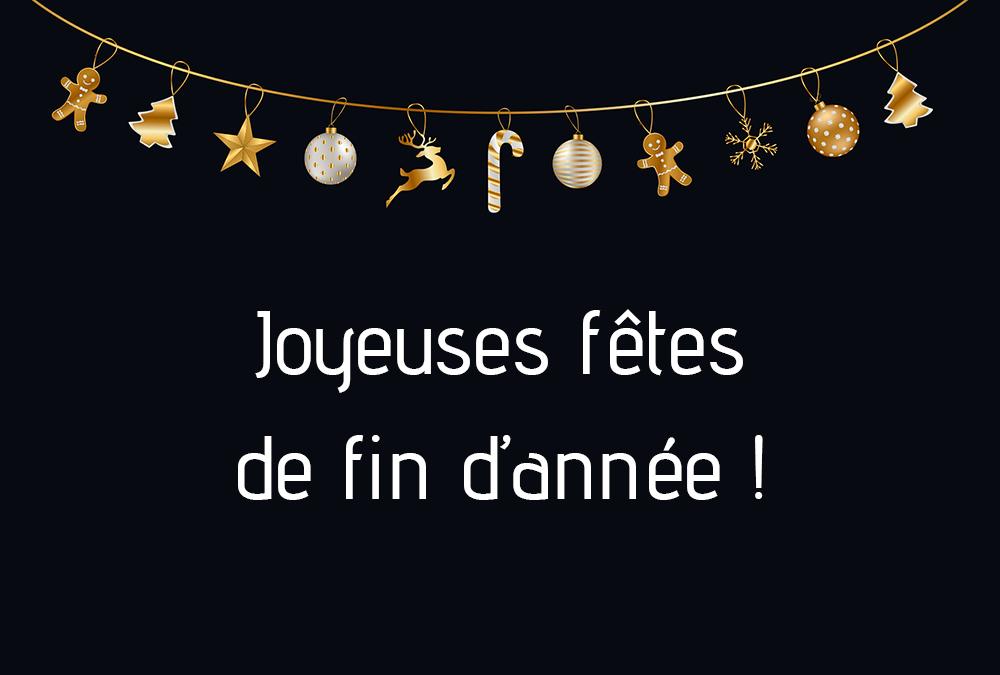 Gymnesia Crolles vous souhaite de joyeuses fêtes !