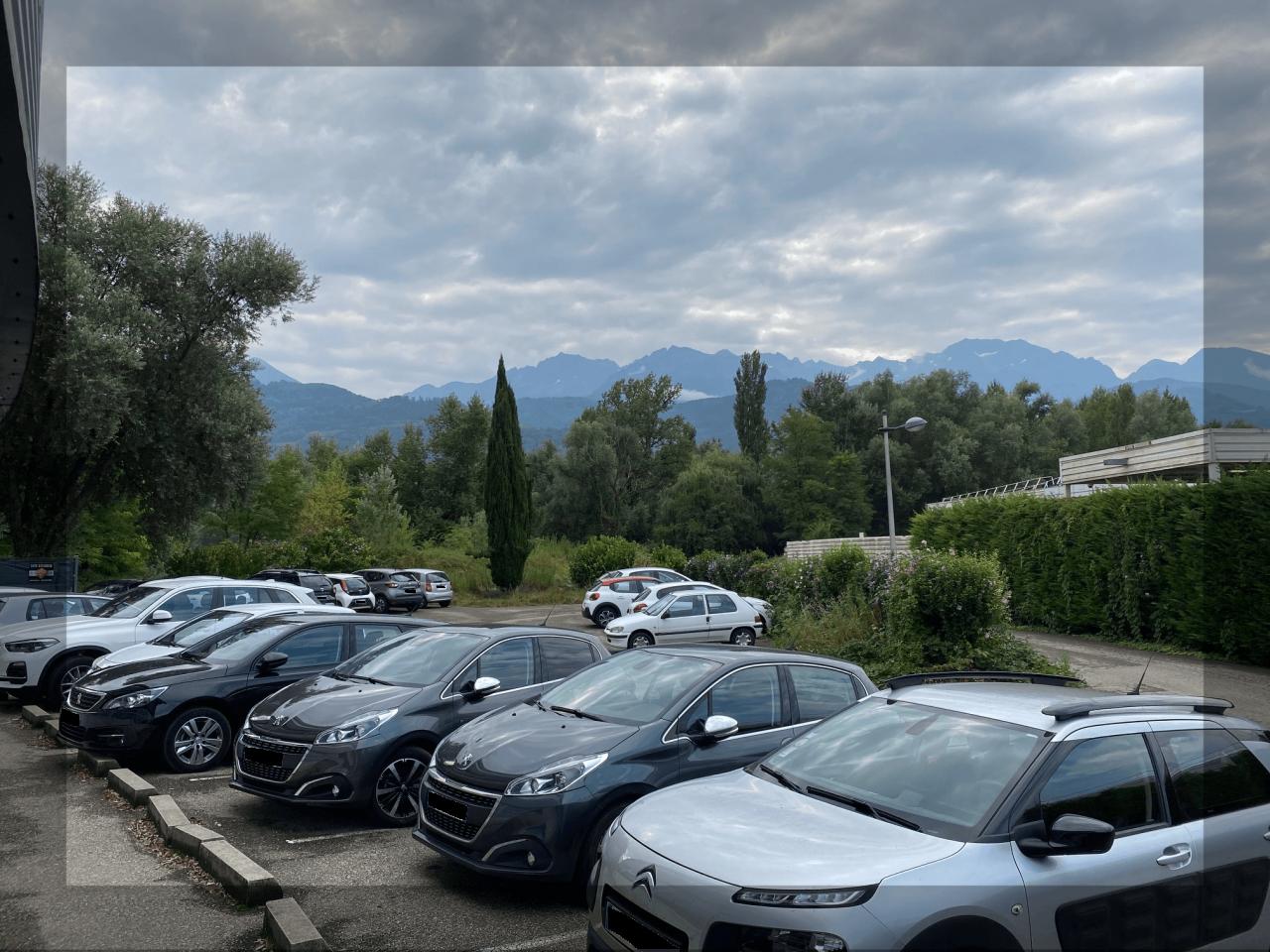Parking de Gymnesia Crolles