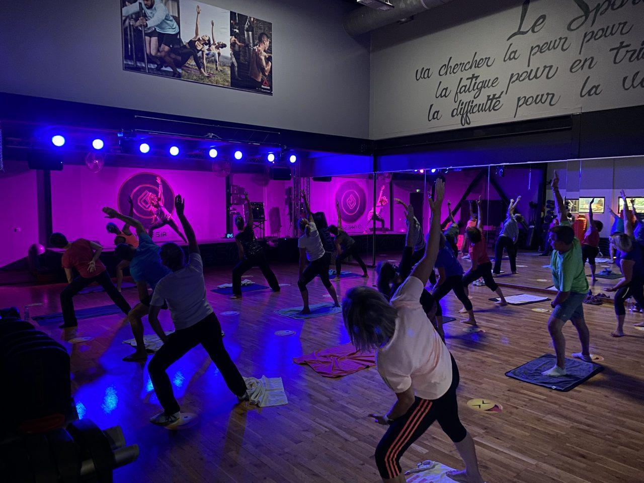 Photo du cours collectif de Body Balance à la salle de Gymnesia Crolles
